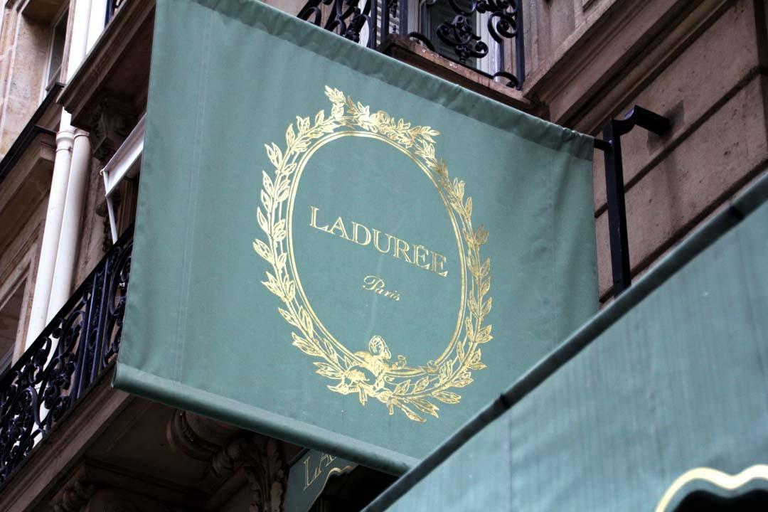 Boutique Ladurée à Paris