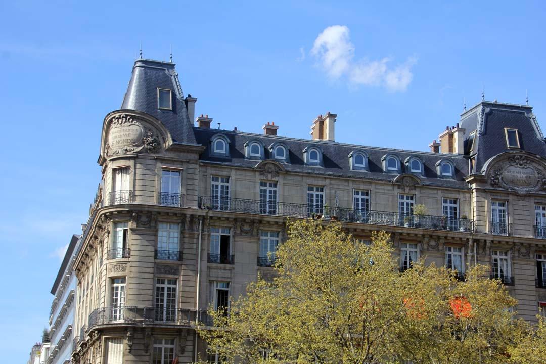 Immeuble parc Monceau