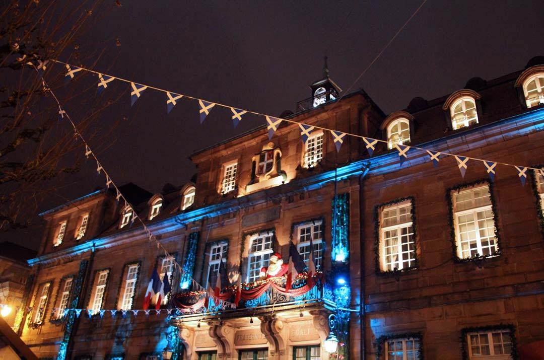 Lumières de Noël de Montbéliard