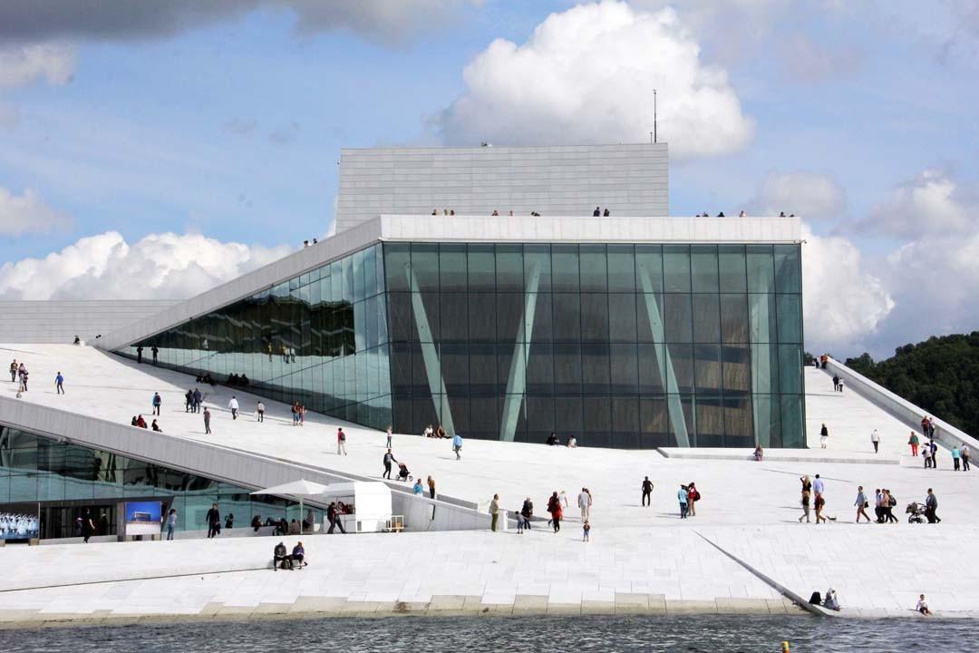 Opéra Oslo en Norvège