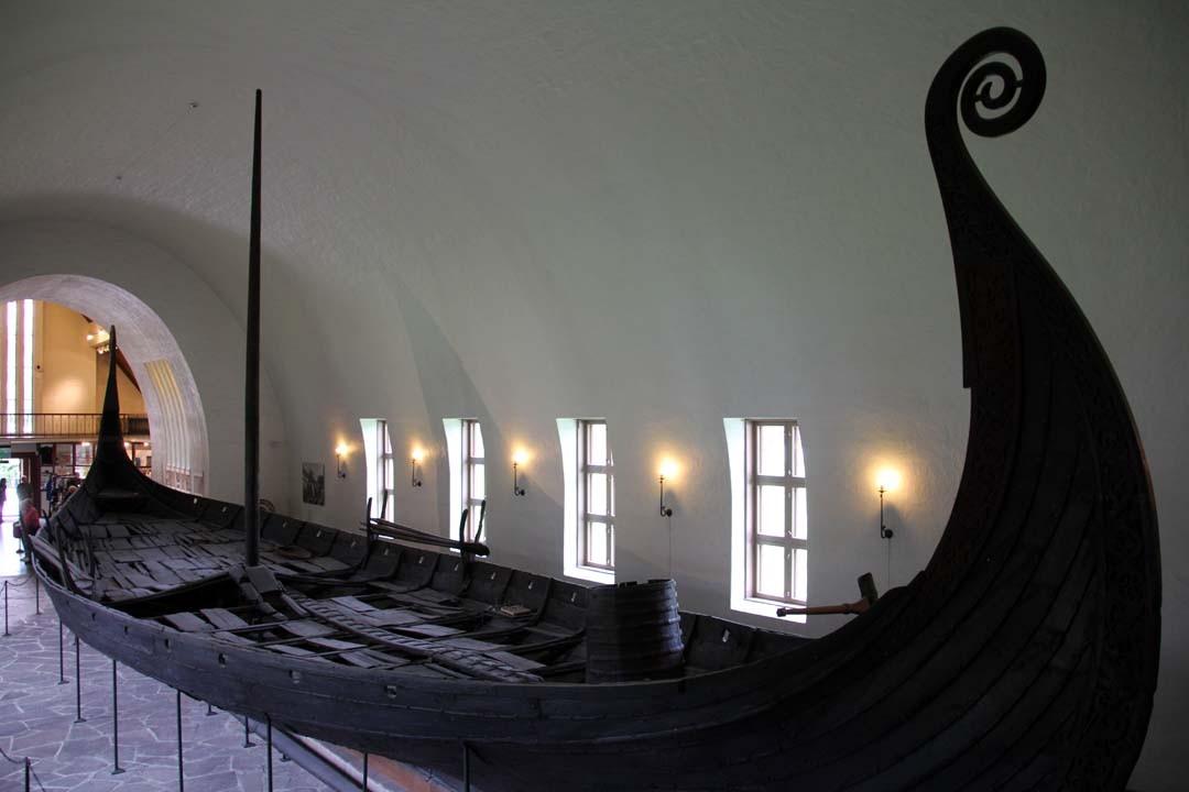 Vikingskishuset (musée des navires vikings) à Oslo