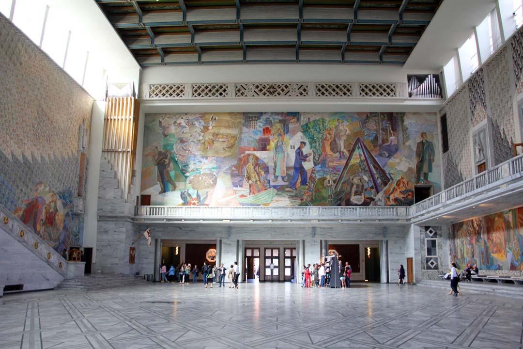 Rådhuset à Oslo