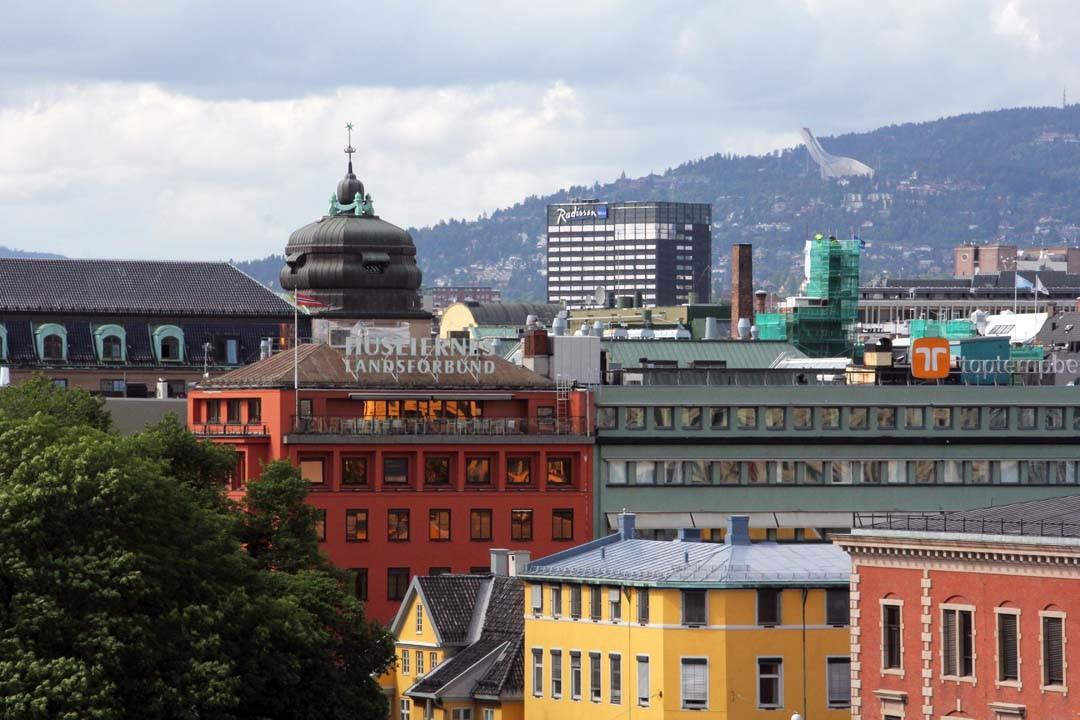 Vue sur Oslo