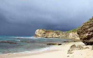 Crique de la porte de l'enfer en Guadeloupe