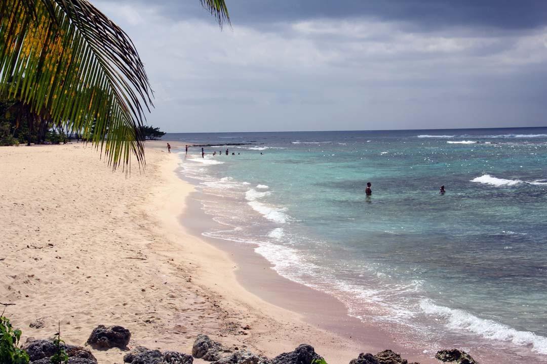 Plage de la Chapelle en Guadeloupe