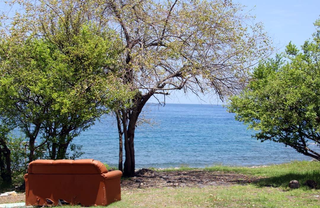 Vue sur la mer en Guadeloupe