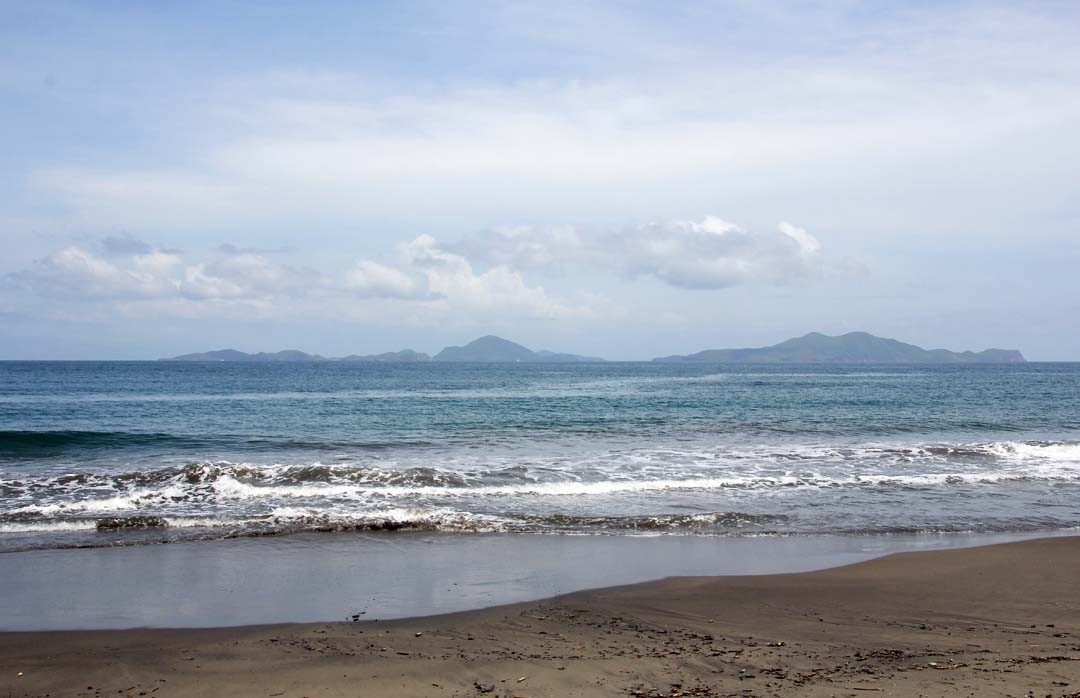 Plage Grande Anse en Guadeloupe