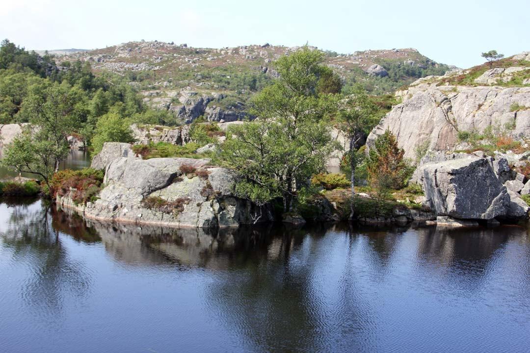 Paysage en Norvège