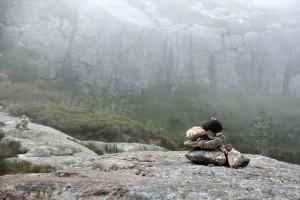 Montagne en Norvège