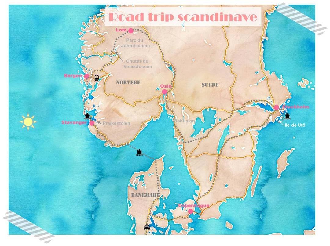 Faire Un Road Trip En Scandinavie Happy Us Book