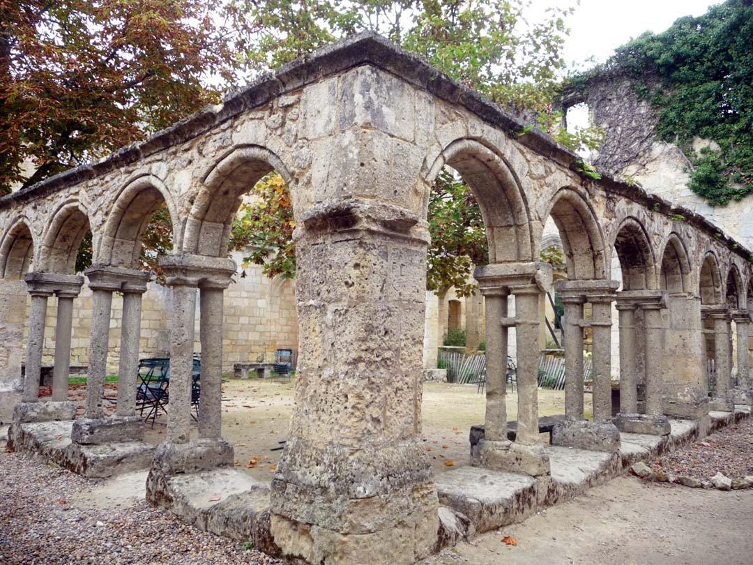 Cloître des Cordeliers à Saint Emilion