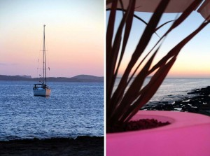Coucher de soleil à Ibiza