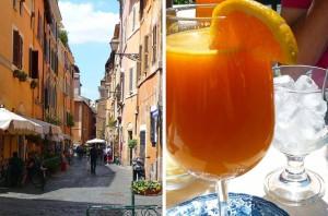 Quartier Trastevere à Rome