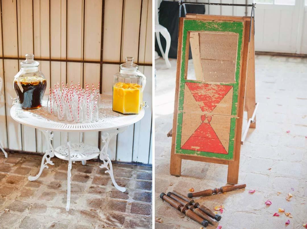 Inspiration mariage jeux en bois