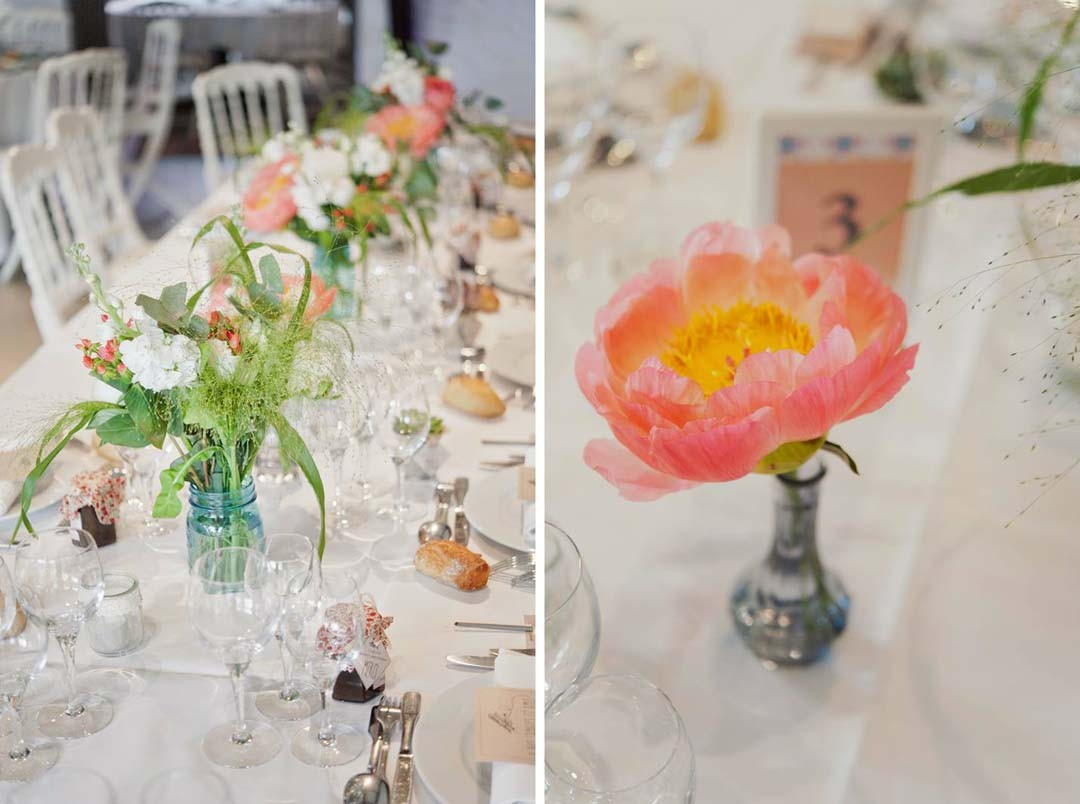 Inspiration mariage déco table