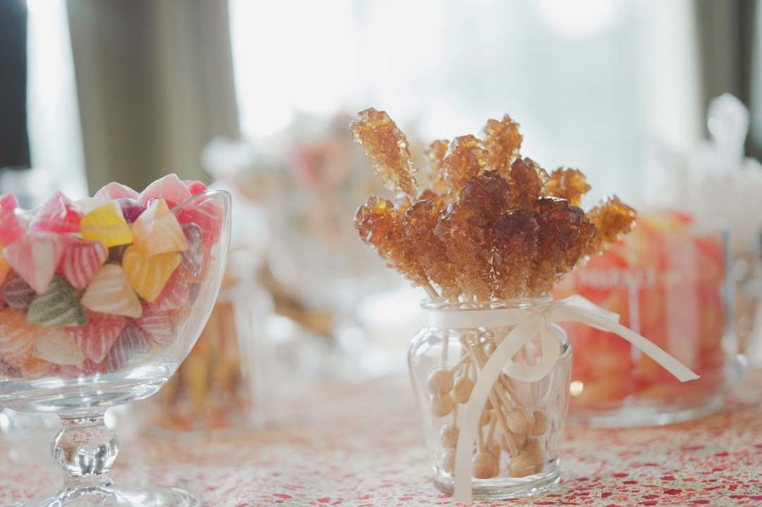 Inspiration mariage candy bar
