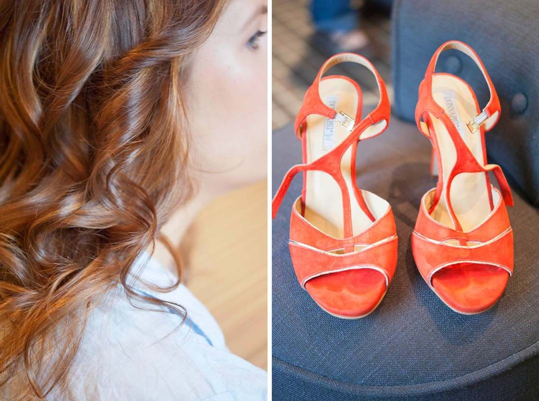 Inspiration mariage chaussures