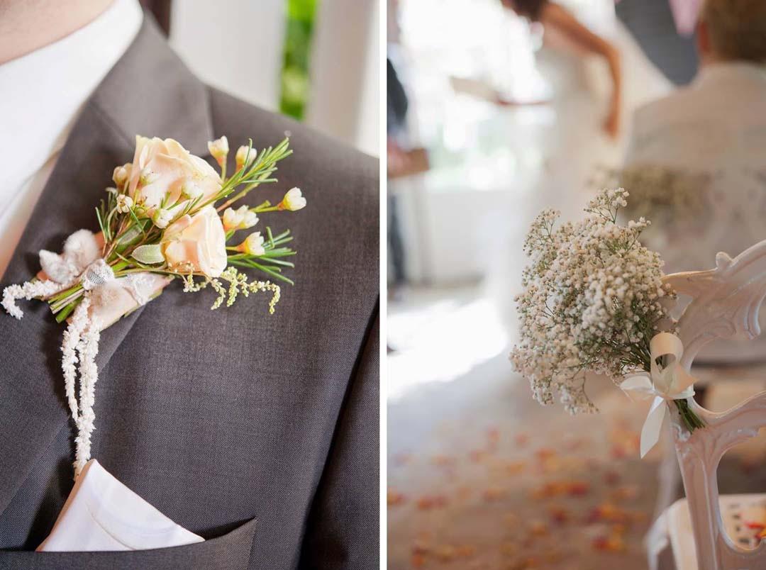 Inspiration mariage fleurs