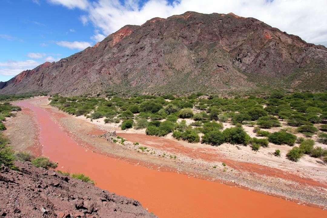 argentine road trip salta vallées Calchaquies rio las conchas