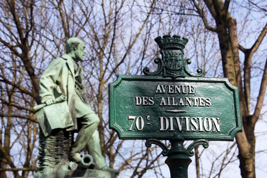 Cimetière du Père Lachaise à Paris