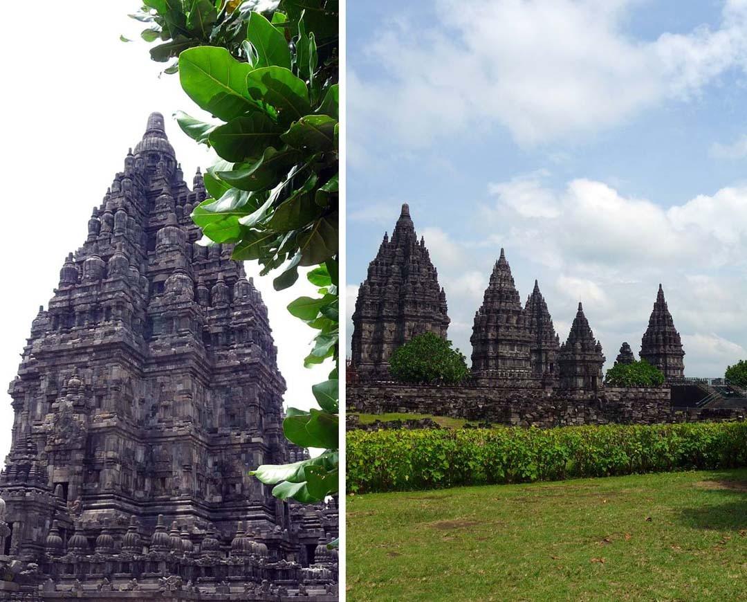 Temple hindouiste Prambanan ou Candi Lara Jonggrang
