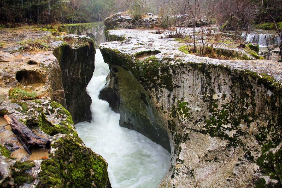 Gorges de Thurignin Bugey Ain Montagnes du Jura