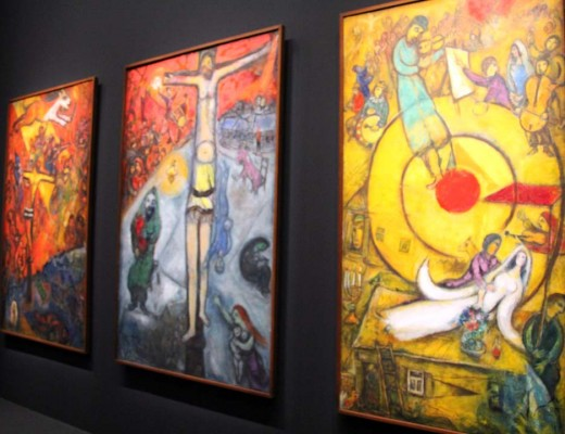 Exposition Chagall au Musée du Luxembourg à Paris