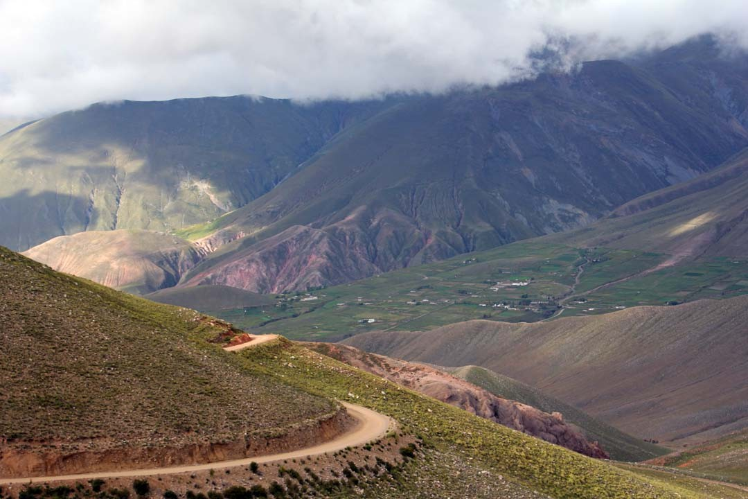 Quebrada de Humahuaca en Argentine