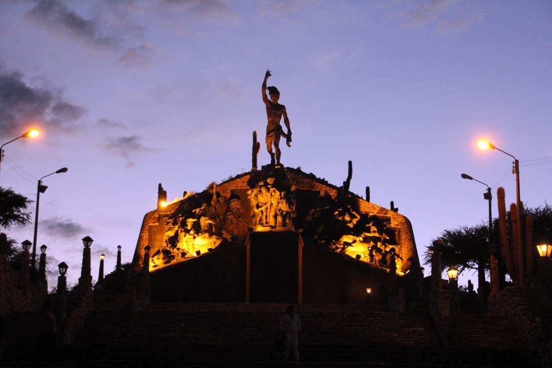 Humahuaca en Argentine