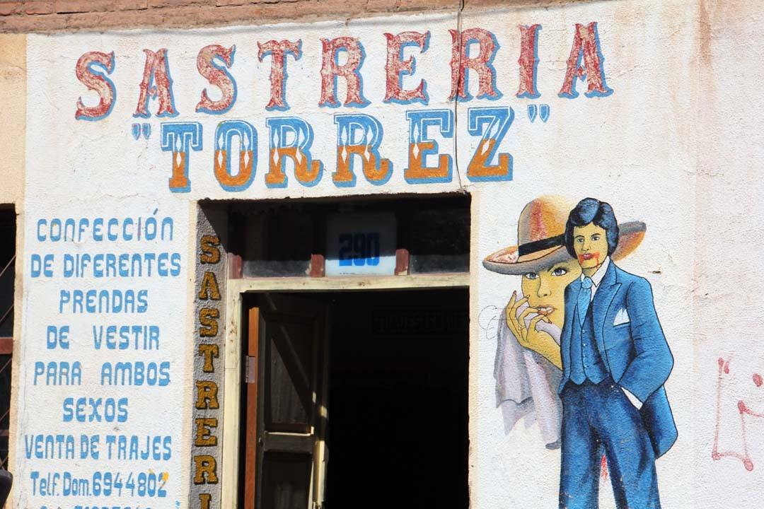 Façade boutique Argentine