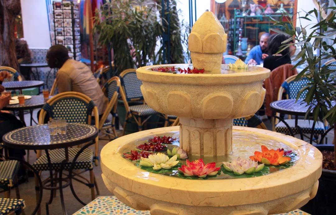 Salon de thé de la Mosquée de Paris - café maure