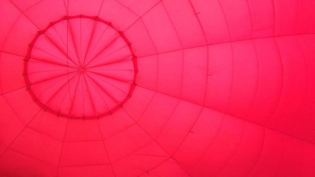 Gonflage montgolfière