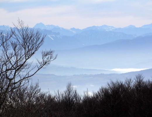 Belvédère de Beauregard dans les montagnes du Jura