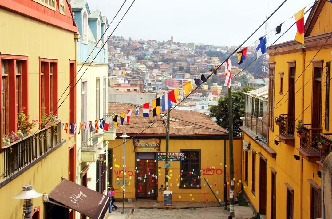 voyage à Valparaiso au Chili