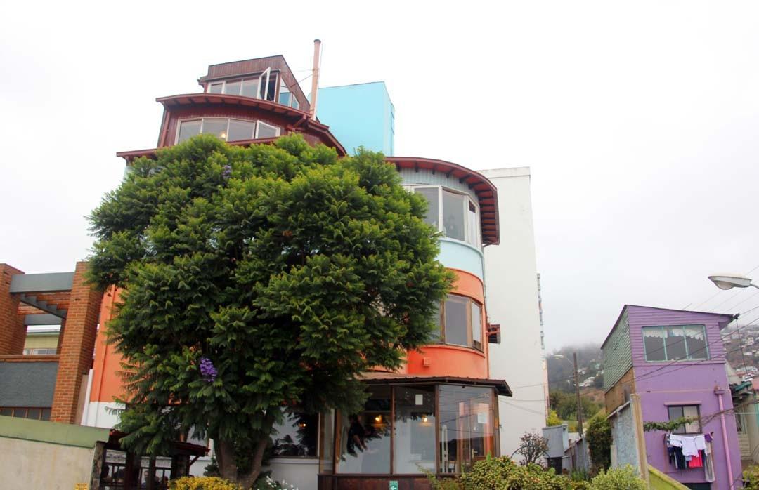 Maison Pablo Neruda Sebastiana à Valparaiso au Chili
