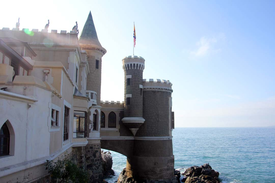 Chateau à Vina del Mar au Chili