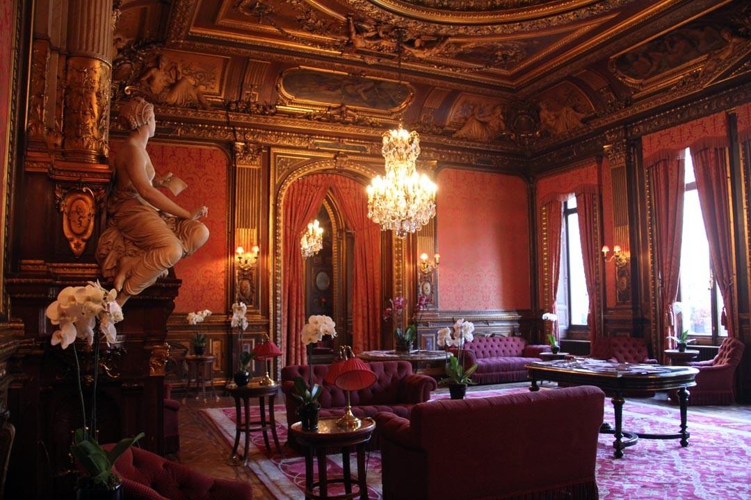 Entrer au travellers club et visiter l 39 h tel de la pa va for Hotel branche a paris