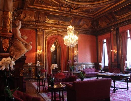 Salon de l'Hôtel de la Païva sur les Champs Elysées