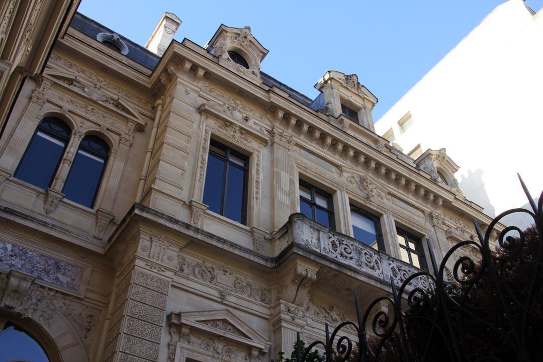 Hôtel particulier de la Païva sur les Champs Elysées à Paris