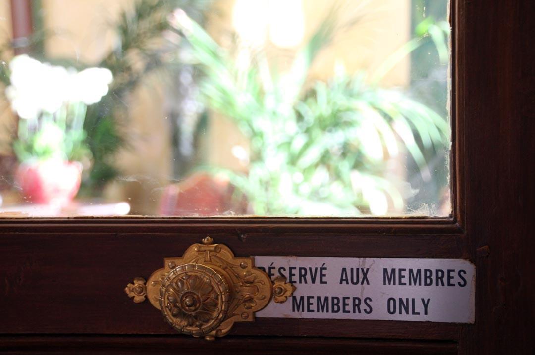 Travellers Club Champs Elysées Paris