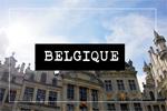 Carnets de voyage Belgique