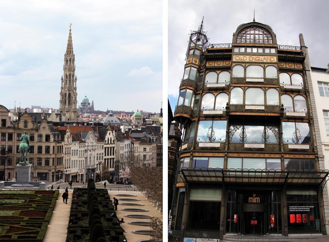 Mont des Arts à Bruxelles