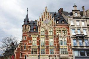 Architecture art deco art nouveau à Bruxelles
