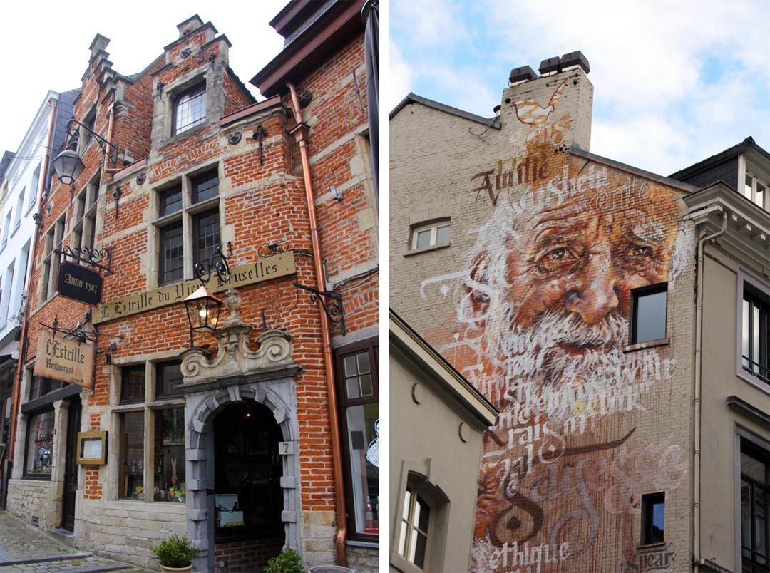 Fresques BD à Bruxelles