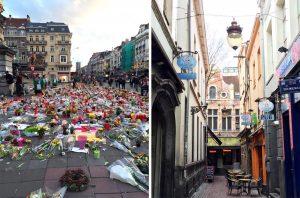Place de la Bourse à Bruxelles