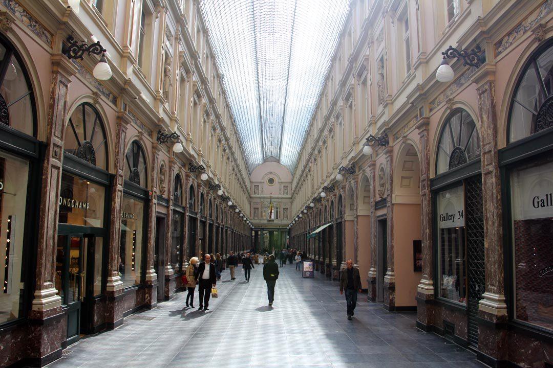 Galeries Royales saint Hubert à Bruxelles