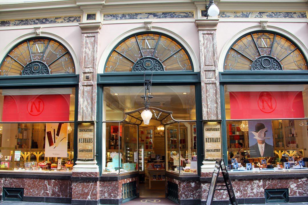 Chocolatier belge à Bruxelles