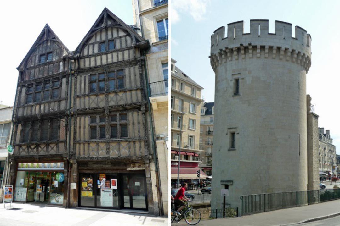 Caen centre-ville