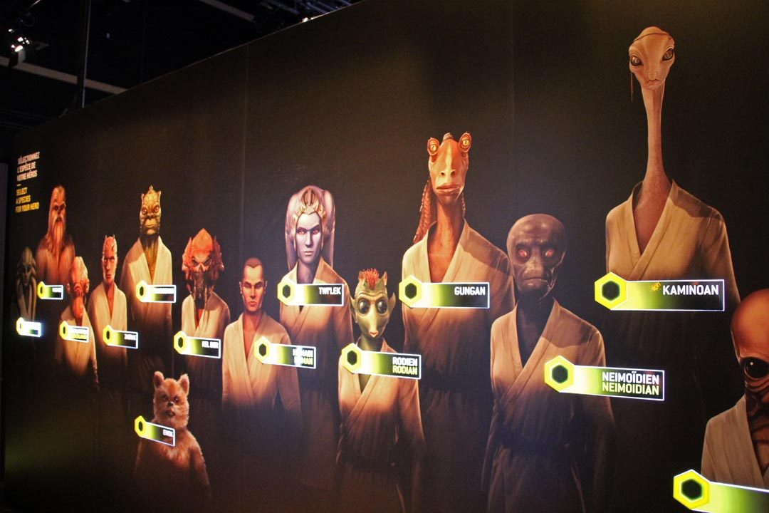 Exposition Star Wars Identities