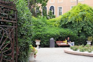 Jardin à Venise